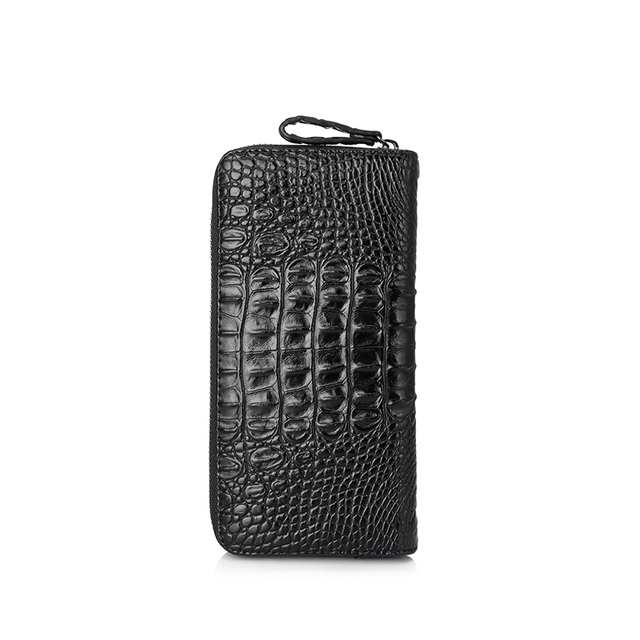 Women's Travel Wallet Artificial Leather Wristlets Luxury Crocodile Prints With Strap