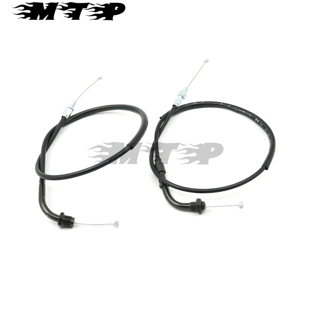 Motorcycle Motorbike Throttle Accelerator Brake Oil Cable Line Wire For Honda CBR600RR CBR1000RR  2003-2007 03 04 05 06 07 throttle cable or wire suit for jianshe400 atv js400atv