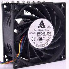 ADDA. 9238 12 v 4.32A PFC0912DE 9 см большой объем воздуха сервер бустер вентилятор