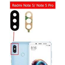 2 шт. для Xiaomi Redmi Note 5/Note 5 Pro камера Стекло Объектив задняя камера стекло объектив с клеем Замена Ремонт Запасные части