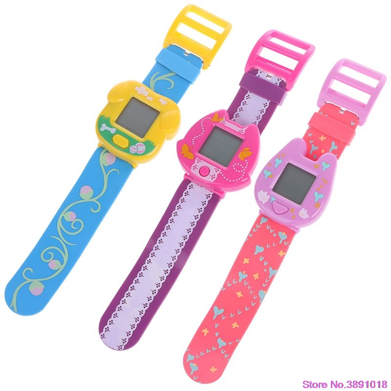 New 90S Nostalgic Virtual Cyber Pet Toy Funny Watch Gift Retro Game For Children