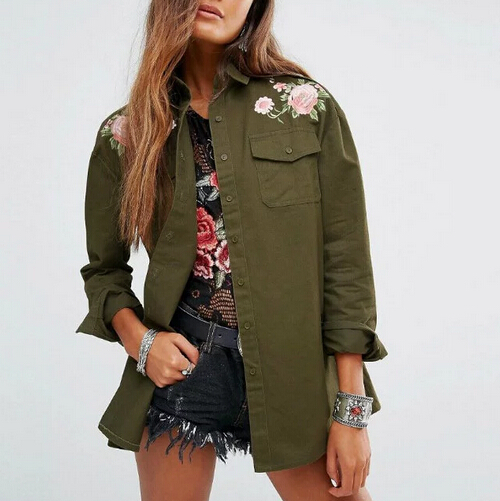 Online Buy Wholesale green shirt jacket from China green shirt