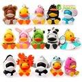 Бесплатная доставка luft милые игрушки, C. duck показатель Брелок/Подвеска 15 шт./компл. 4 СМ Высота на рождество подарок