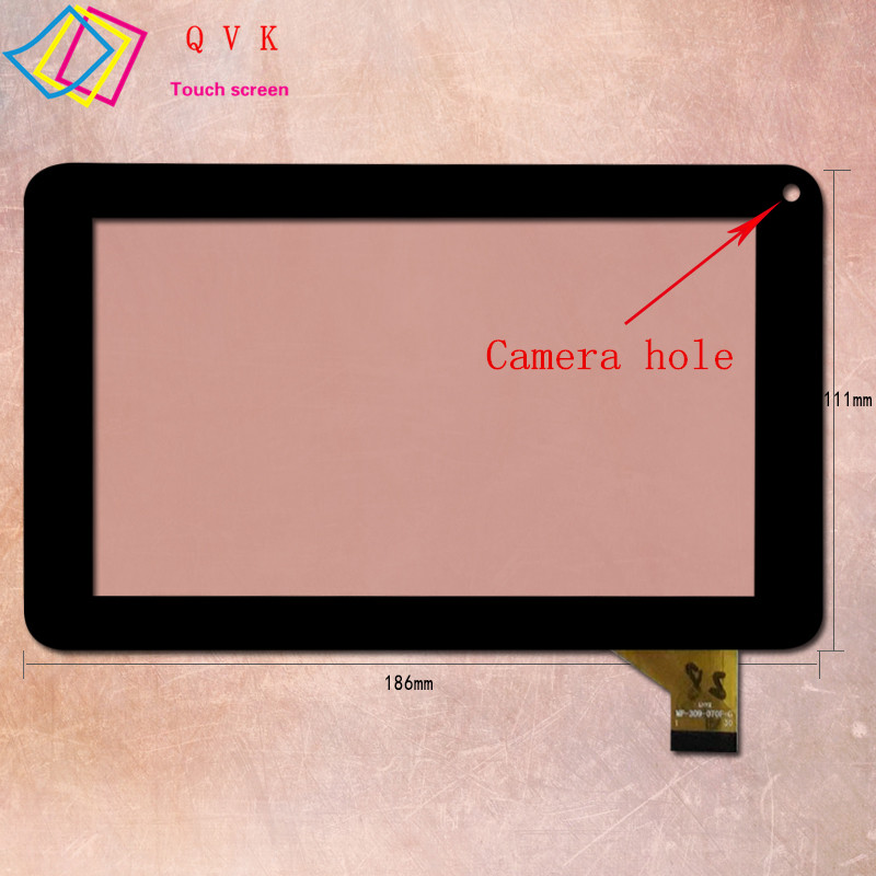 7 Inch for RoverPad Sky C7 WiFi tablet pc capacitive touch screen glass digitizer panel Free shipping original new 8 inch ntp080cm112104 capacitive touch screen digitizer panel for tablet pc touch screen panels free shipping