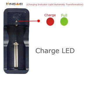 Image 4 - KingWei 1 pièces Rechargeable Chargeur De Batterie Multi pour 26650 18650 18350 14500 16340 10440