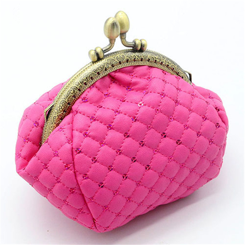 Fashion Women's Coin Purses Female Solid Small Purses and Wallets Women Hasp Change Purse for Girls Mini Wallet 4 Colors coin purses women wallets genuine leather mini purse small coin pouch hasp