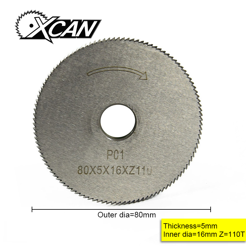 XCAN Key Cutting Machine Blade 80*5*16*110T Key Machine Cutter Key Machine Parts Locksmith Tools For Cutting Key