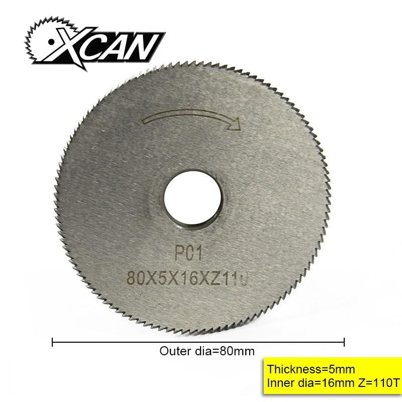 XCAN Key Cutting Machine Blade 80*5*16*110T Key Machine Cutter Key Machine Parts Locksmith Tools For Cutting Key