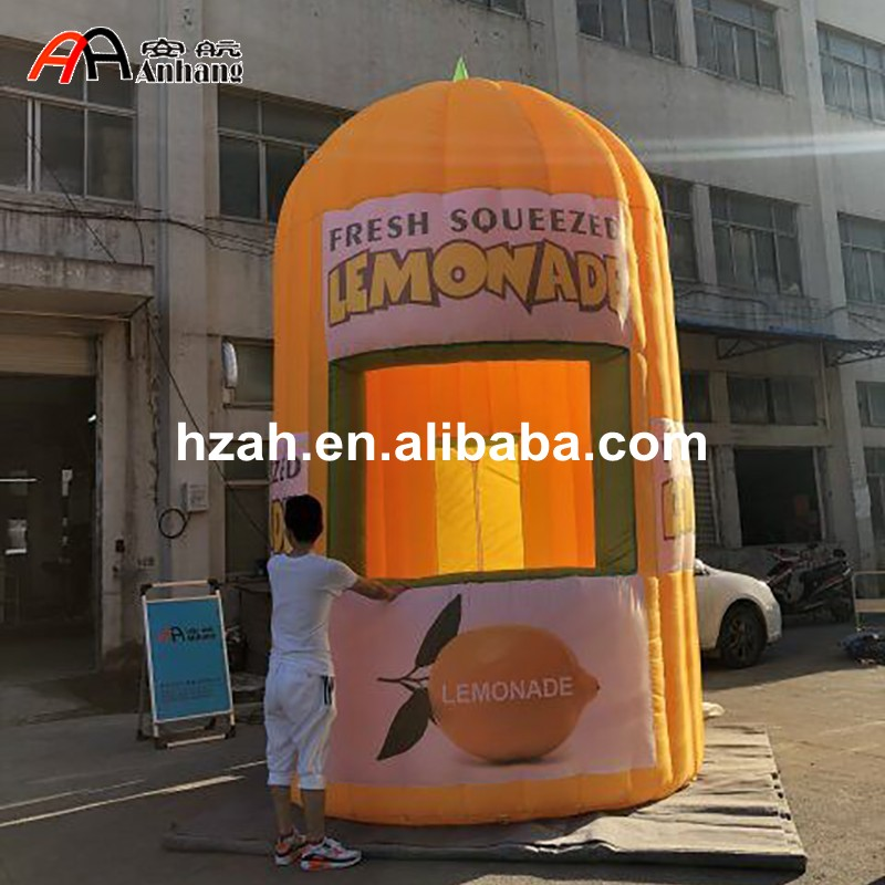 Inflatable Tent Furniture: Advertising Inflatable Lemonade Tent Inflatable Sales