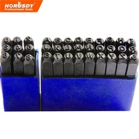 SEDY Letter Number 36pc Stamp Punch Set Hardened Steal 3mm Hand Tool Professional Tool 17 0