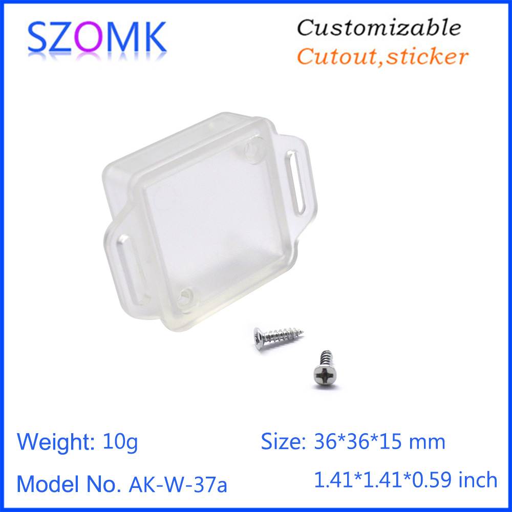 Waterproof Translucence Project Electronic Plastic Instrument Housing Box