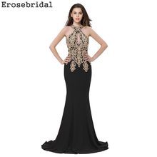 a1beb18fae Halter Black Evening Gown Promotion-Shop for Promotional Halter ...