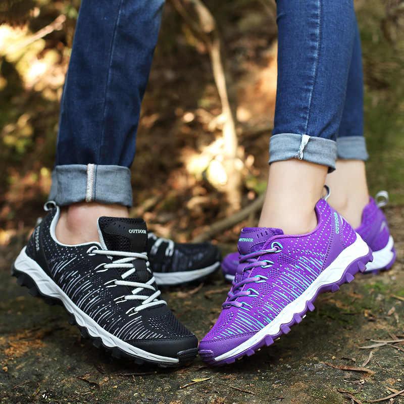 2016 походная обувь, зимние уличные кроссовки для мужчин и женщин, треккинговые легкие сапоги на шнуровке, плюс спортивная обувь, дышащие средние (B, M)