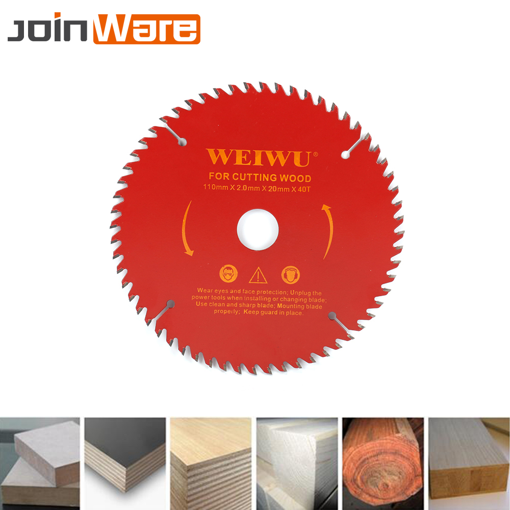 110mm 30T 40T Carbide Circular Saw Blade For Wood Cutting Woodworking Cutter Tool Aperture 20mm Free Shipping High Quality 4Inch