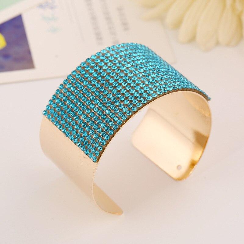 womens bangles rhinestone wide cuff bracelet jonc metal pulseiras bangles for women knot carter love bracelet