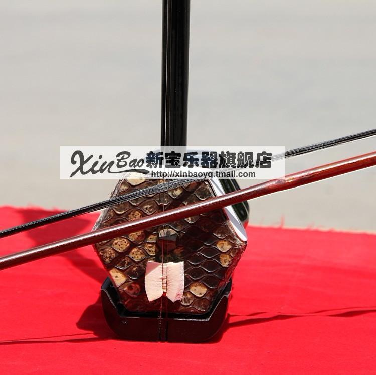 Erhu traditionnelle Chinoise instrument de musique suzhou erhu dvd à cordes de rechange avec cas