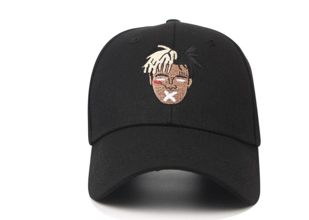 96b62bb3832 High Quality Cotton Singer xxxtentacion Dreadlocks Snapback Cap For Men  Women Hip Hop Dad Hat Baseball. US  2.37