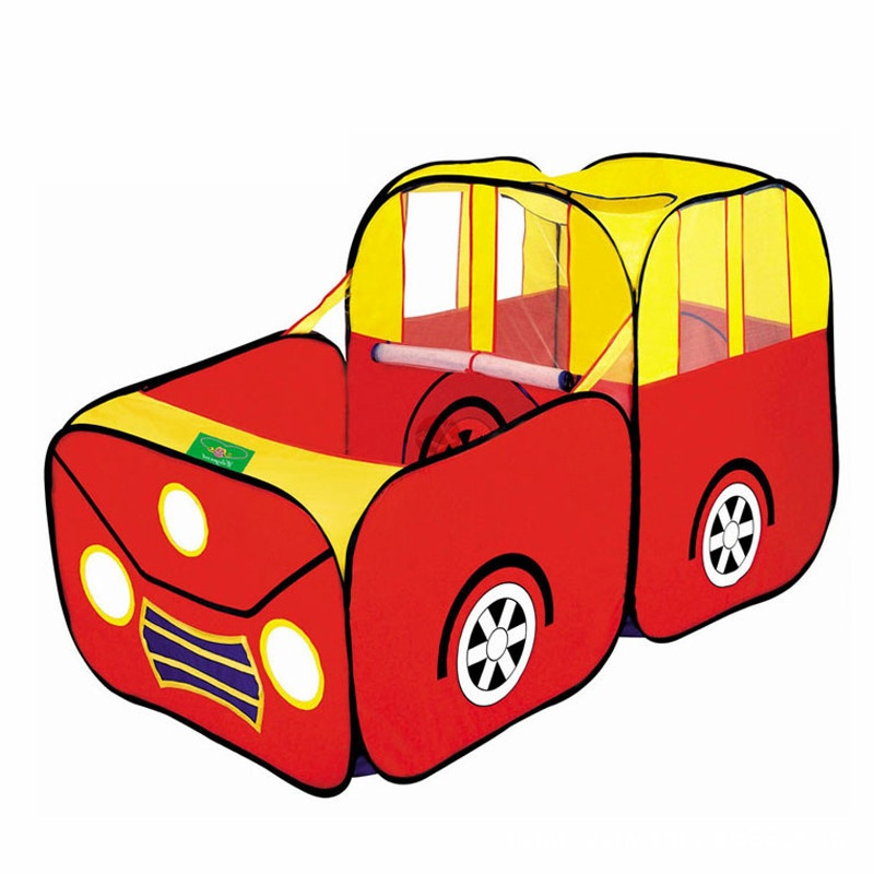 Esportes carro crianças jogar tenda casa jogar cabana crianças oceano bolas pit piscina
