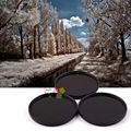 43mm 680nm+760nm+950nm Infrared IR Optical Grade Filter for Canon Nikon Fuji Pentax Sony Camera Lenses