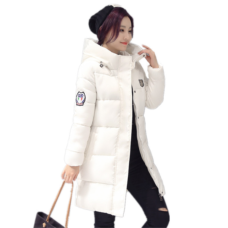 2018 New Long   Parkas   Female Women Winter Coat Thickening Cotton Winter Jacket Womens Outwear   Parkas   for Women Winter Outwear