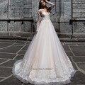 Сексуальная Шампанское Арабские Свадебные Платья Турция Длинным Рукавом Кружева Невесты Платье Ливан Свадебные Платья 2017 Vestidos de Noiva Манга Лонга