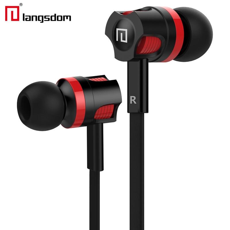 Original Brand Earbuds JM26 font b Headphone b font Noise Isolating in ear Earphone Headset with