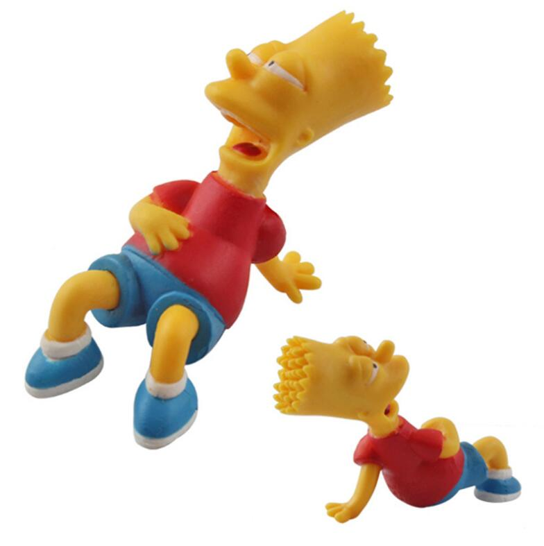 Image 3 - 14 pz/set Figura Simpson Collection giocattoli action figure  decorazione Brinquedos Anime bambini giocattoli vendita al dettaglio-in  Action figure e personaggi giocattolo da Giocattoli e hobby su