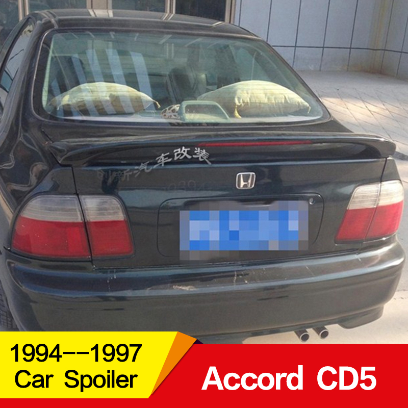 Use For Honda Accord Spoiler 1994 1995 1996 1997year Spoiler Fifth Generation CD5 Accord ABS Material Car Rear Wing With Colour