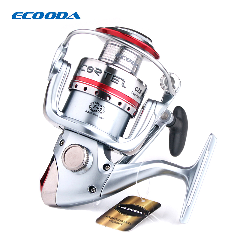 ECOODA Cortez Deluxe Spinning Fishing Reel Freshwater Saltwater 8 Stainless Steel Ball bearings Gear Ratio 5