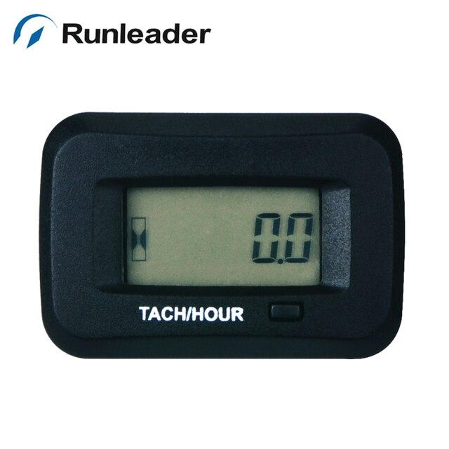 Runleader RL-HM038R RPM Hour Meter Tachometer For generator ATV excavator Tractor Marine sprayers Snowmobile mine mixer tiller