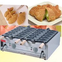 Free Shipping New Business Ideal Gas And Electric Fish Shape Baking Machine Japanses Taiyaki Grill Taiyaki