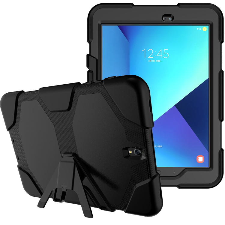 Shockproof Heavy Duty Armor Case For Samsung Galaxy Tab S3 9.7 Silicone Cover For Galaxy Tab S3 9.7inch SM-T820/T825 Tablet планшет samsung galaxy tab s3 9 7 sm t820 wi fi 32gb черный