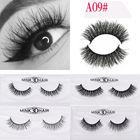 Black Mink Lashes Eye Lashes 3D Mink Eyelashes Thick High-quality Handmade