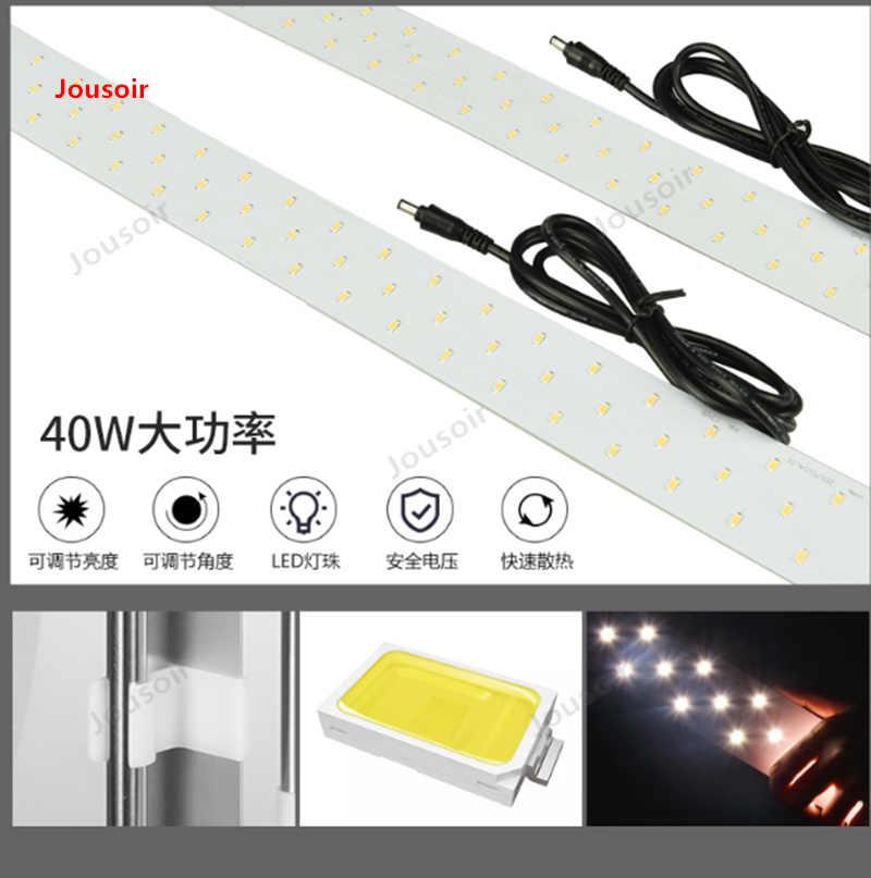Godox Estúdio mesa 80 cm foto pequena canal foto softbox luz de escurecimento simples mini tiro lâmpada CD50 T03