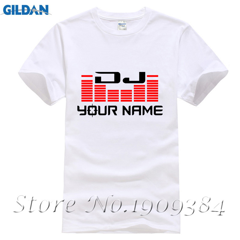 DJ Your Name Men's White T Shirt Dry Fit Polyster Mesh Shirt Breathable Shirt Camiseta hombre Hip Hop Shirt