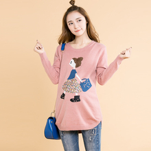 Newest style all match high quality Rustic maternity clothing maternity autumn  winter pullover sweater slim top fashion autumn