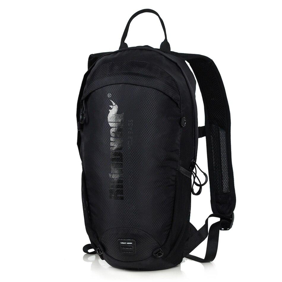 12 литровый рюкзак для велоспорта, легкий дышащий рюкзак для езды на велосипеде, рюкзак для активного отдыха, спортивный рюкзак, Аксессуары для велосипеда - Цвет: Черный