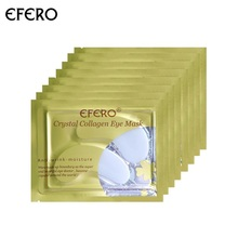 EFERO 8pair=16pcs Collagen Eye Mask Patch Under the Eyes Bag Removal for Face Masks Dark Circles Moisturizing Pads