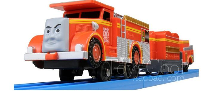 Electric Thomas Train T057E Flynn Truck Thomas And Friends Trackmaster Magnetic Tomas Locomotive Engine Railway Toys Boys