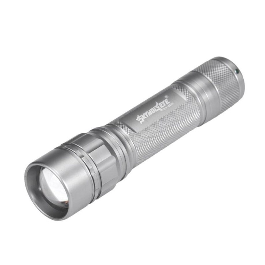 18650 LED 3-Mode Mini Pocket USB Rechargeable Adjust XPE Torch Lamp Flashlight