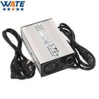 Cargador WATE 54,6 V 2A 13S 48V cargador de batería Lipo/LiMn2O4/LiCoO2 cargador de batería Auto-Stop herramientas inteligentes