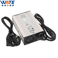 WATE 54.6V 2A Charger 13S 48V Li ion Battery Charger Lipo/LiMn2O4/LiCoO2 Battery Charger Auto Stop Smart Tools