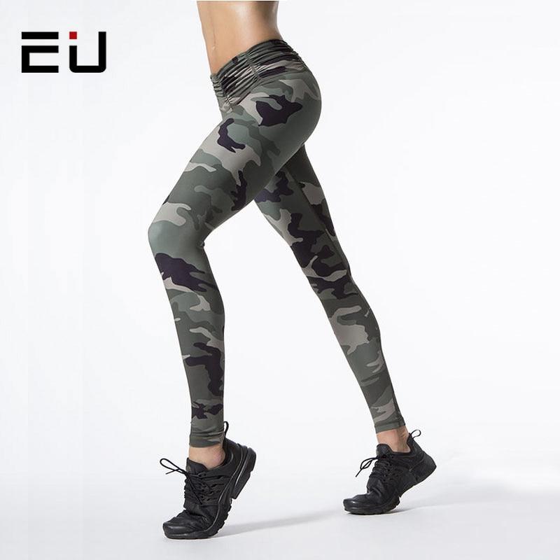 Aliexpress.com : Buy EU Women Camouflage Printed Sporting Leggings ...