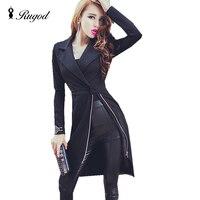New Europe 2016 Autumn Winter Women S Temperament Long Dress Coat Female Casual Clothing Fashion Women