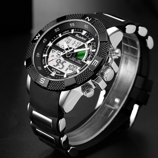 Brand New Luxury Led Quartz Men Watch