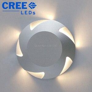 Image 2 - Luci di coperta a LED IP67 12V 24V 3W CREE incasso a pavimento scale passo parete vialetto Patio finitrice lampada sotterranea faretto esterno
