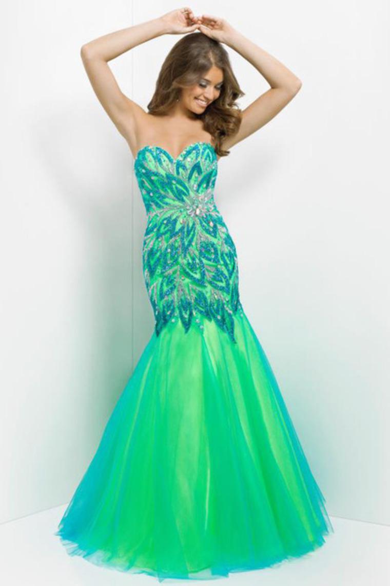 free shipping robe de soiree vestido de festa longo 2016 new hot sexy green long sweetheart beading party gown   prom     dresses