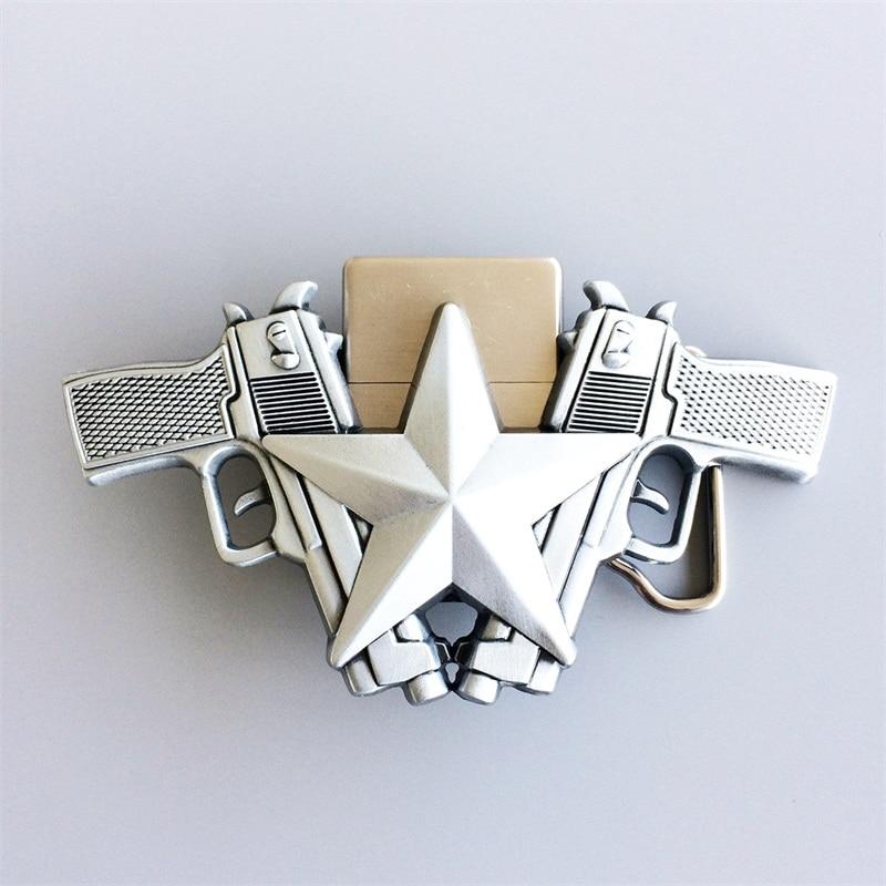 Men Belt Buckle Eagle Guns Lighter Belt Buckle Gurtelschnalle also Stock in US