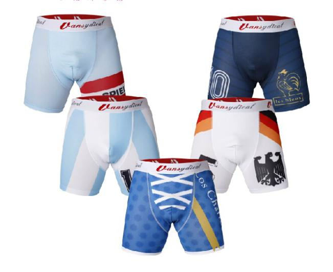 VANSYDICAL Men Base Layer Box Shorts Quick Dry