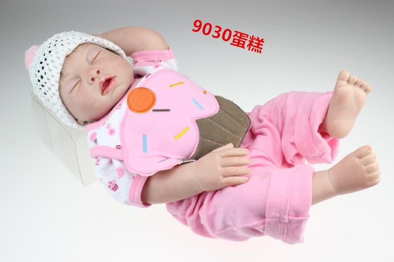 купить full silicone body bebe reborn babies reborn bonecas brinquedo Christmas Gift NPK 50CM по цене 6731.07 рублей